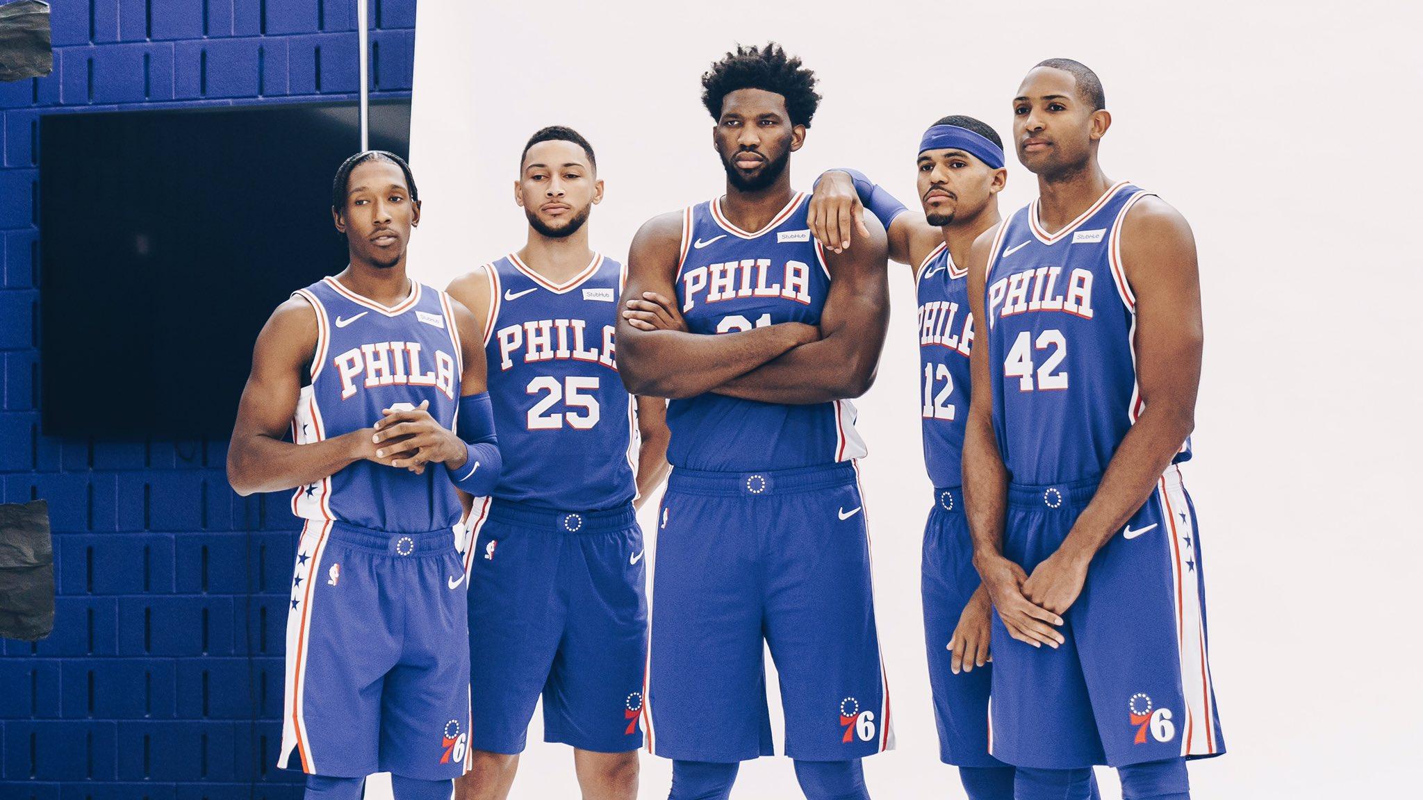 Philadelphia 76ers Roster